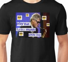 Saxual Relations Unisex T-Shirt