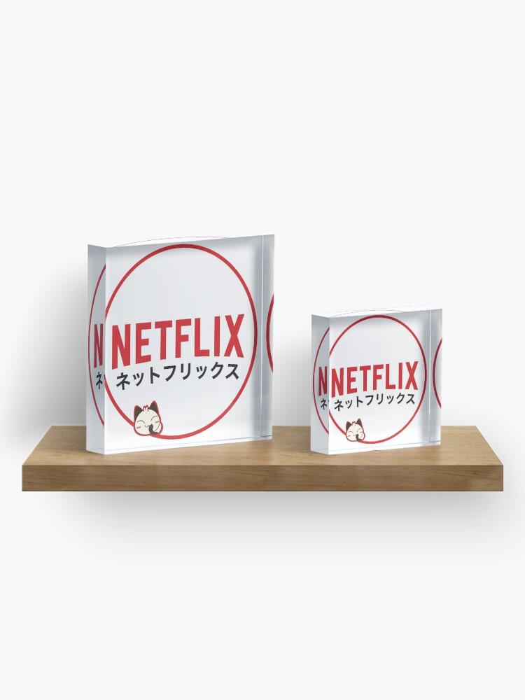Alternate view of Netflix Japan Acrylic Block