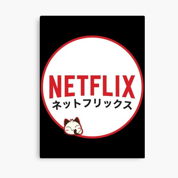 Netflix Japan Canvas Print