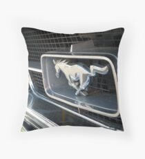 MUSTANG WILD HORSE Throw Pillow