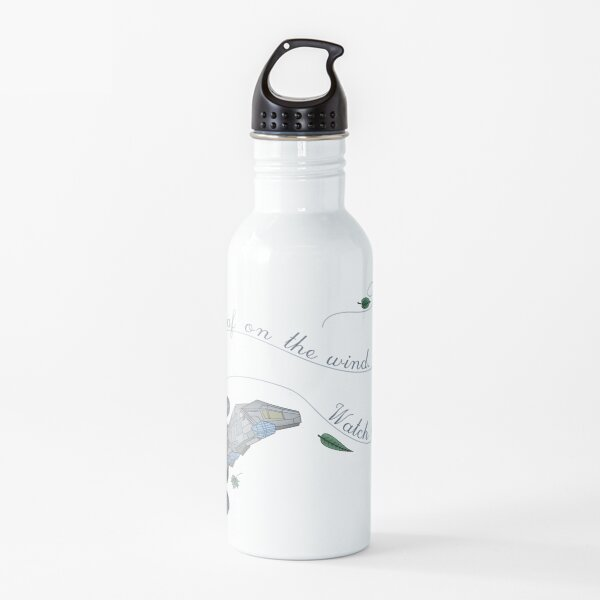 Leaf on the wind Water Bottle