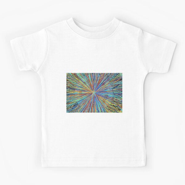 Particle Collision in the LHC at Cern Logo Kids T-Shirt
