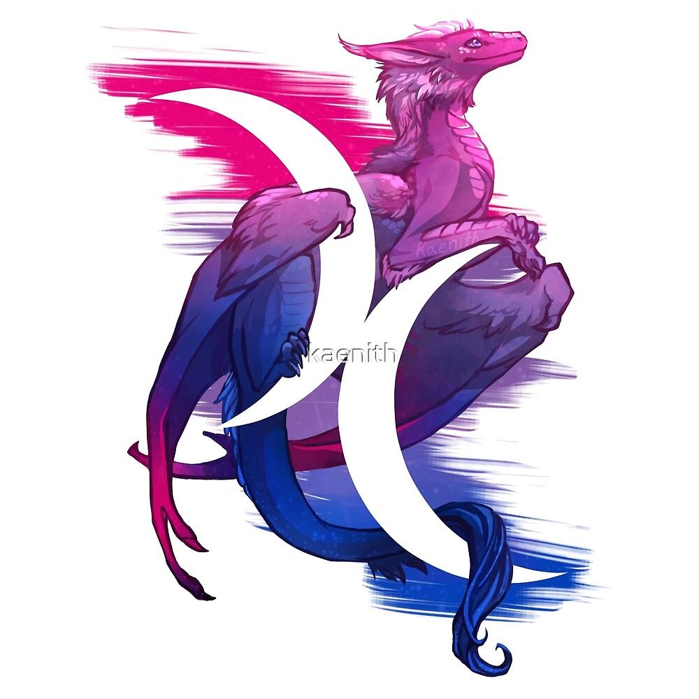 """""""Bi Pride Dragon"""" by kaenith"""