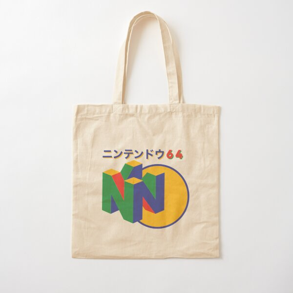 Nintendo 64 Japanese version Cotton Tote Bag