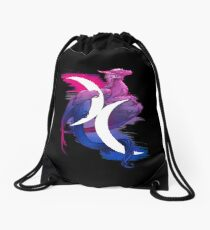 Bi Pride Dragon Drawstring Bag