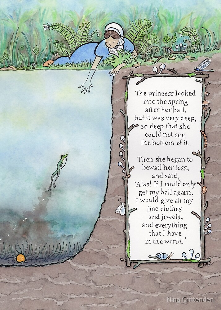 The Frog Prince by Nina Crittenden