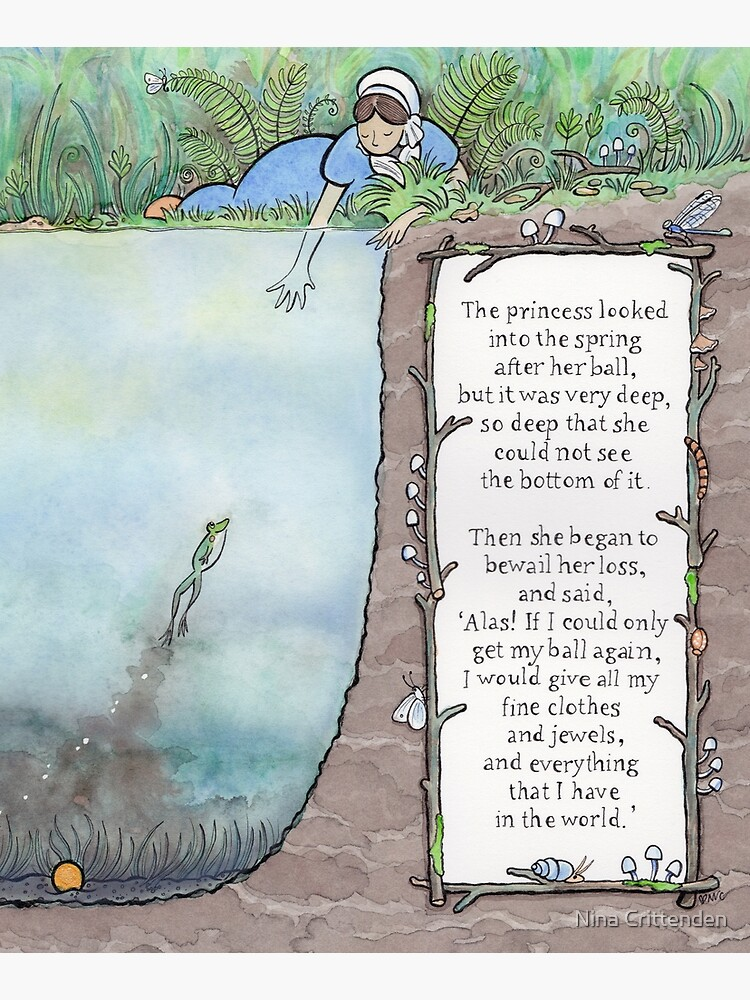 The Frog Prince by ninacrittenden