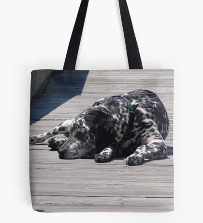 Kokomo, the Dockmaster's Dog Tote Bag