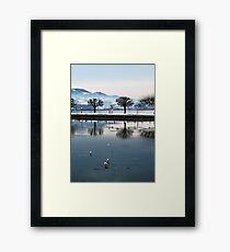 Lake Zurich Framed Print