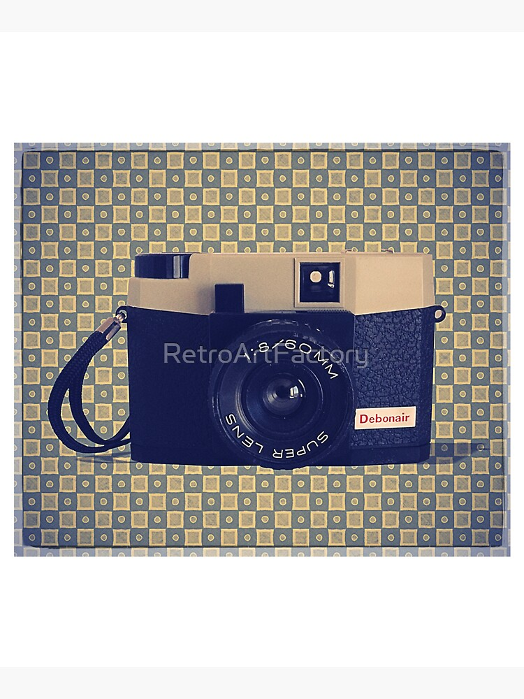 Debonair Plastic Camera - Vintage Color by RetroArtFactory