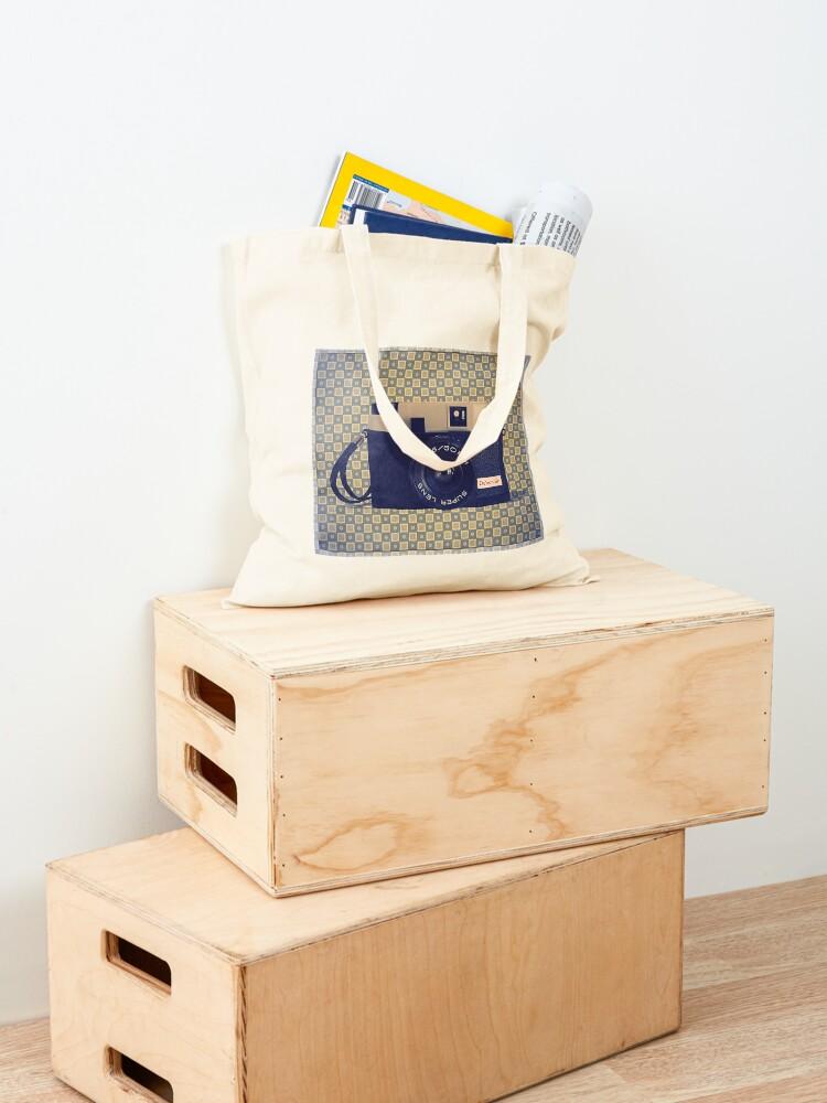 Alternate view of Debonair Plastic Camera - Vintage Color Tote Bag