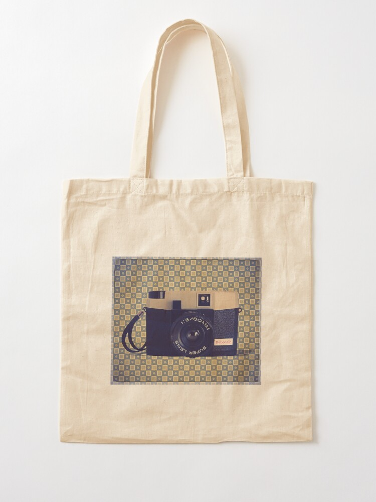 Alternate view of Debonair Plastic Camera - Vintage Color Tote Bag