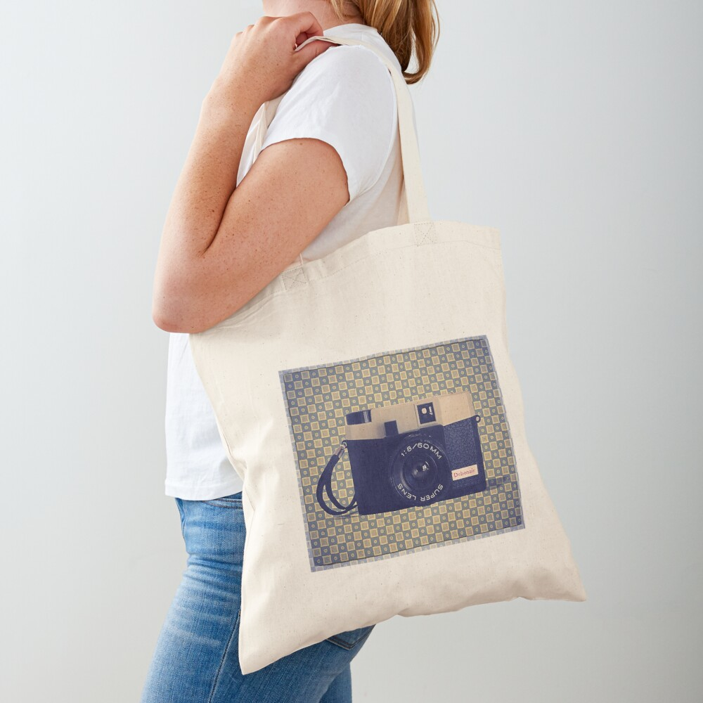 Debonair Plastic Camera - Vintage Color Tote Bag
