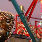 Sphynx of the amusement park. by fernando