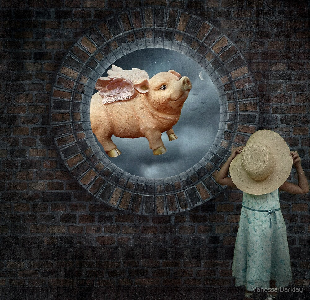 Pigs DO Fly... by Vanessa Barklay