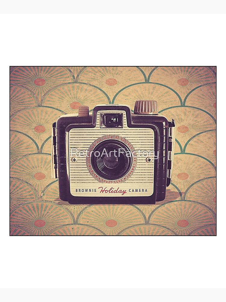 Brownie Holiday Camera - Vintage Color by RetroArtFactory