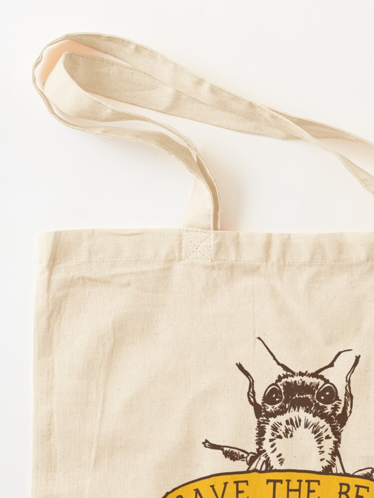 Alternate view of Save The Bees! Tote Bag