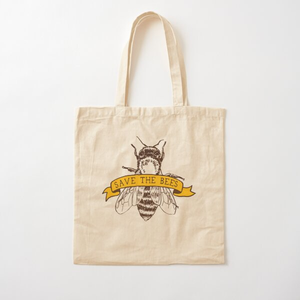 Save The Bees! Cotton Tote Bag