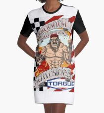 EXPLOSIONS!! Graphic T-Shirt Dress