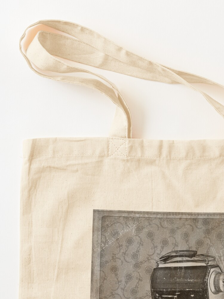 Alternate view of Welta Camera - Vintage Black and White Tote Bag