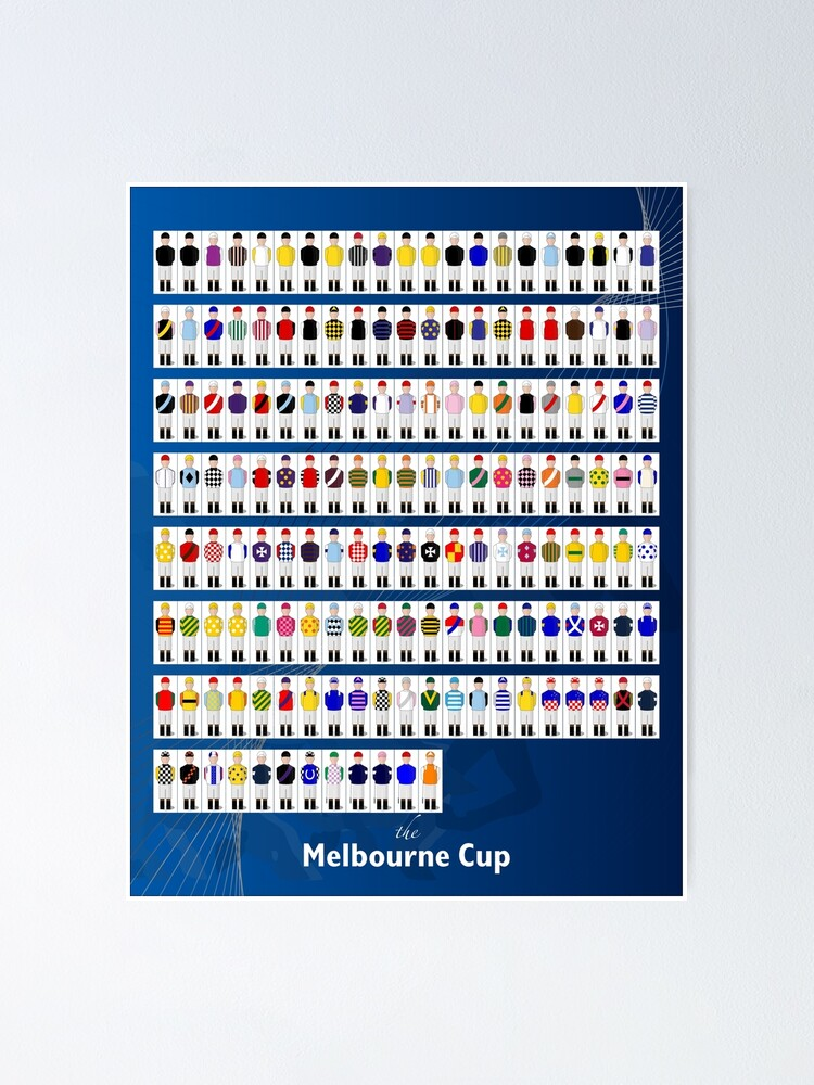 Alternate view of Melbourne Cup Winners  Poster