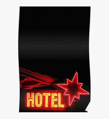 Neon Overnight Poster