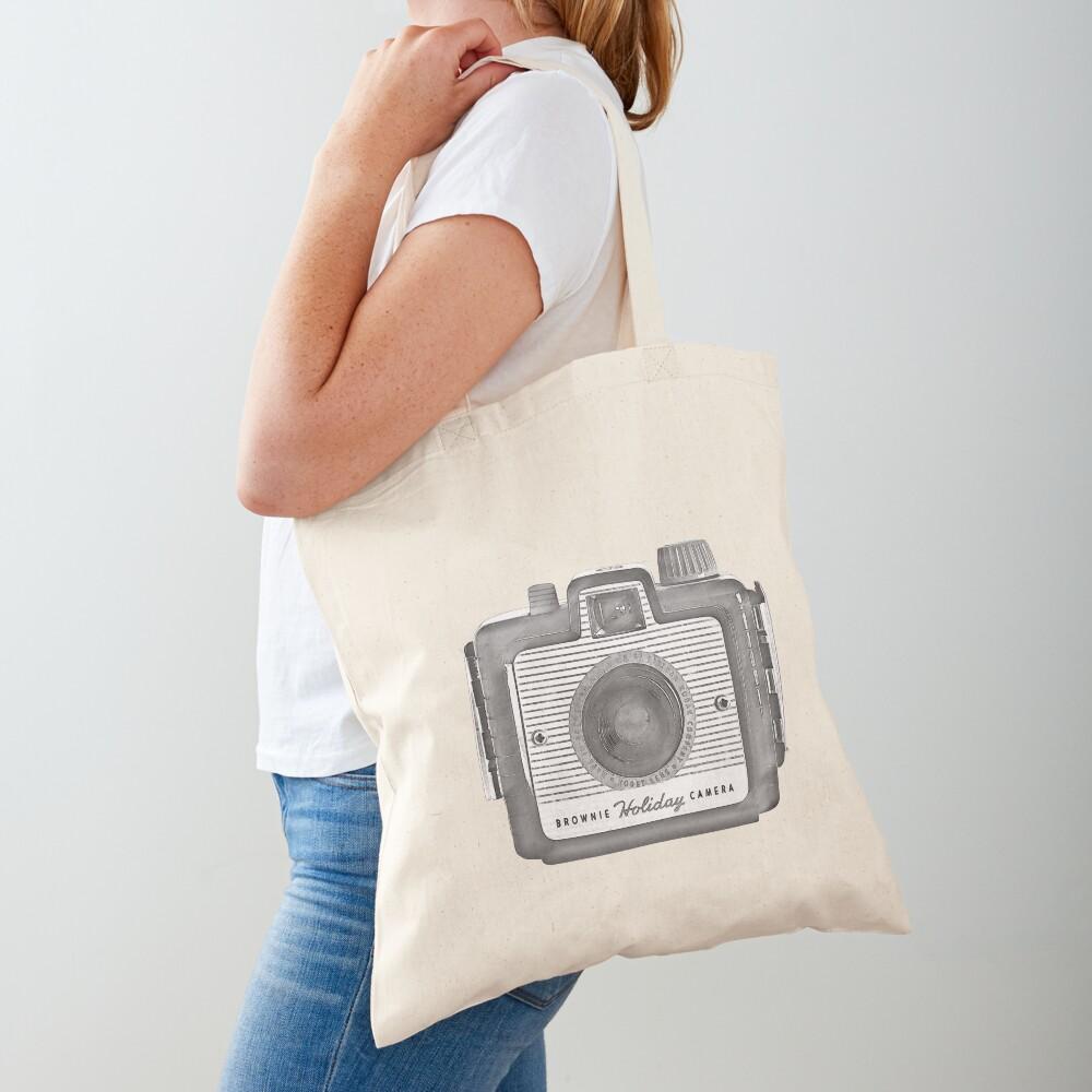 Brownie Holiday Camera Tote Bag