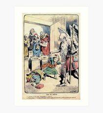 Achille Lemot Lemot 1902 se méfie Art Print