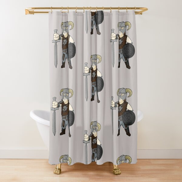 Dovahboy Shower Curtain