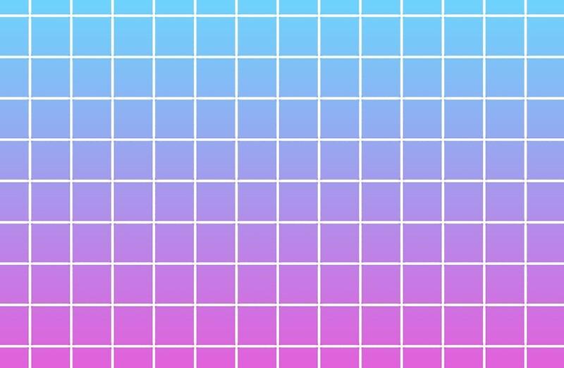 Quot Pink Amp Blue Grid Gradient Quot Laptop Skins By Astronomicals