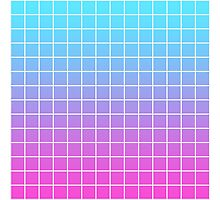 Pink Blue Grid Gradient Laptop Skins By Astronomicals Redbubble