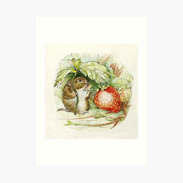 Timmy Willie Mouse - Beatrix Potter Impression artistique
