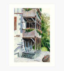 Maringues Tannery Art Print