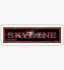 Skyline Slap Aufkleber Sticker