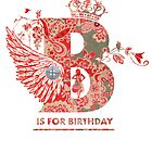 sweet birthday card by Narelle Craven