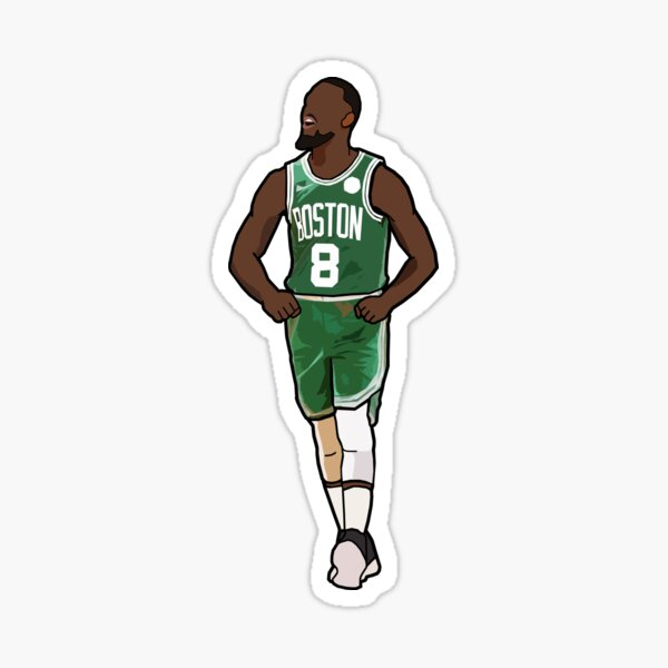 K.W Boston Sticker