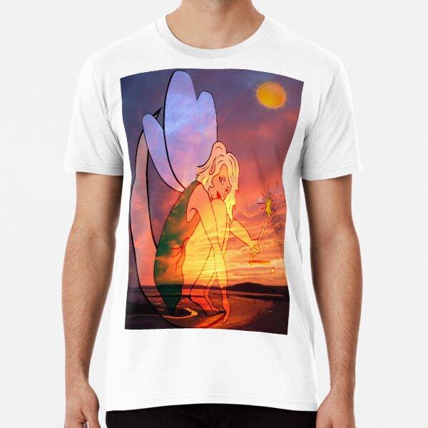 A Girl Under the Sun Poster Premium T-Shirt