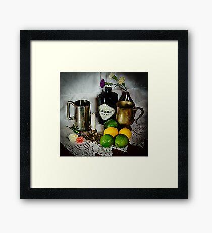 Tankards of Gin Framed Print