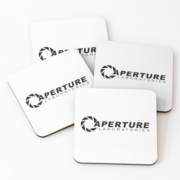 Aperture Laboratories Coasters (Set of 4)