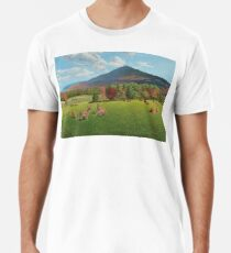 """Sumner Meadow"" oil painting by Reed Prescott Premium T-Shirt"