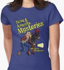 Nomi and Amanita Mysteries Women's Fitted T-Shirt
