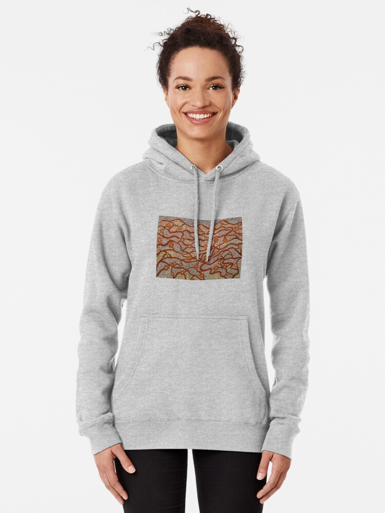 Alternate view of Majestic Mountains Pullover Hoodie