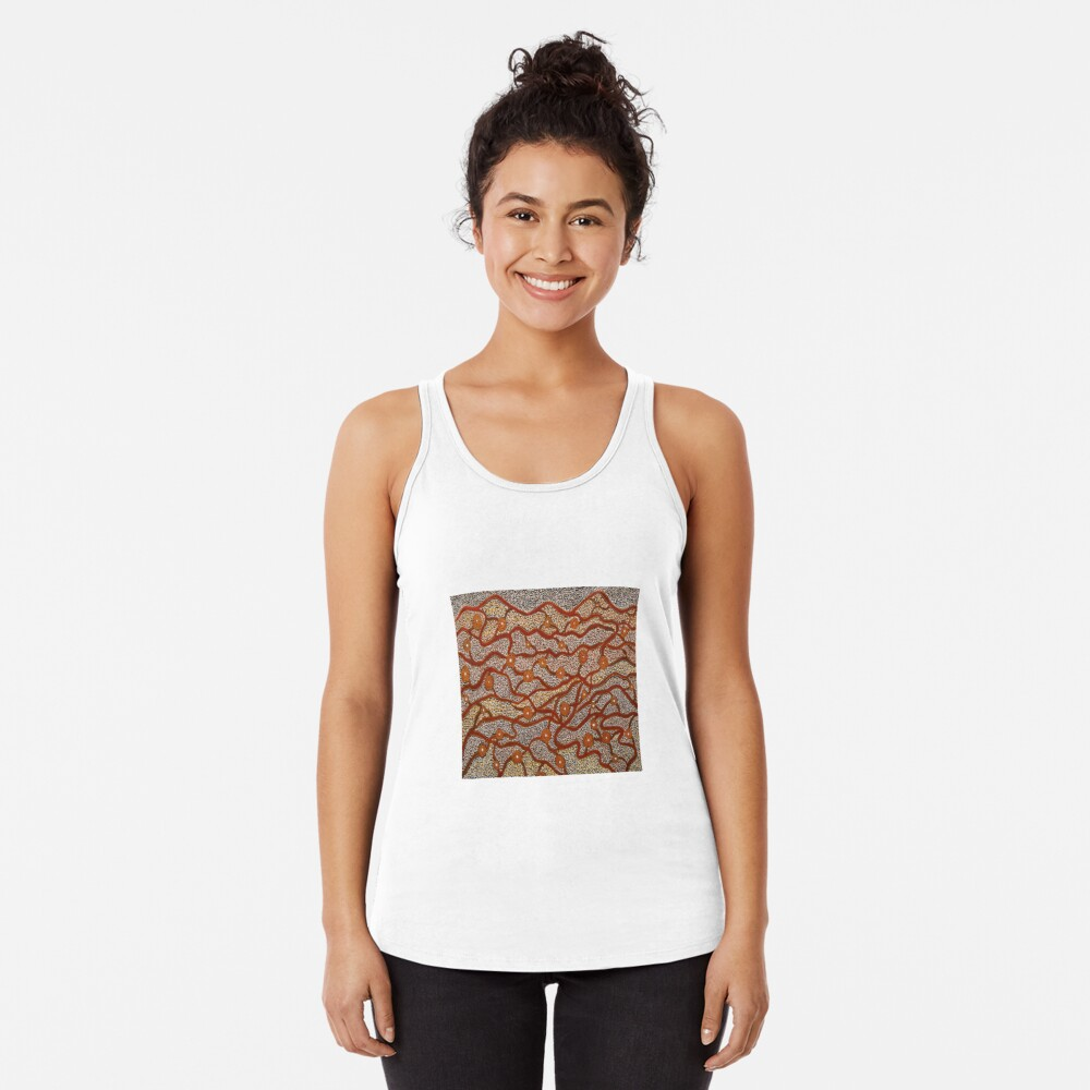 Majestic Mountains Racerback Tank Top