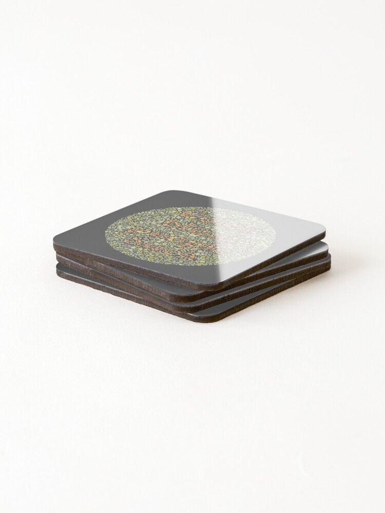 Alternate view of Color Blind People Suck Coasters (Set of 4)