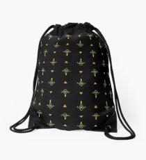 Bill Cipher Drawstring Bag
