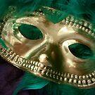 Mardi Gras Mask and Boa by MarjorieB