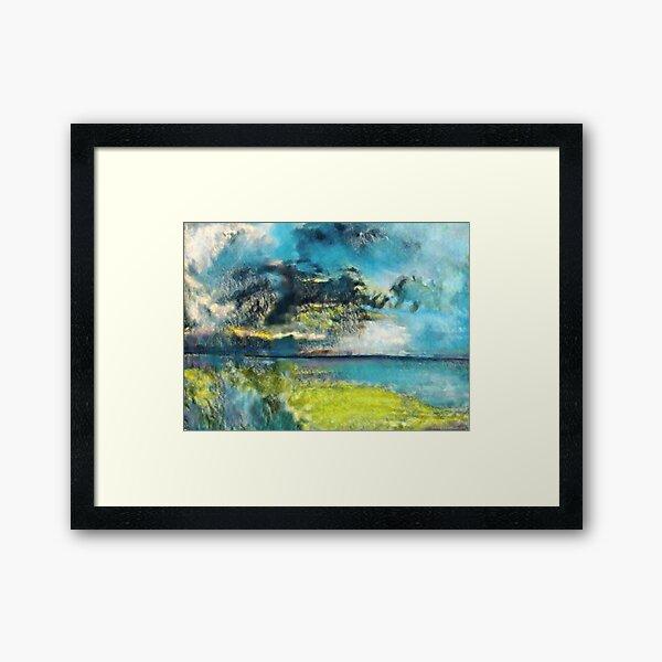 Worlds Collide Framed Art Print