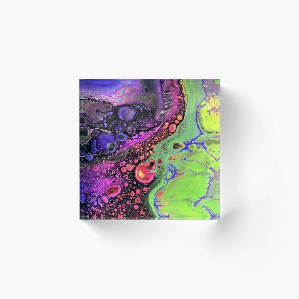 Jasper Sea - Lime Acrylic Block