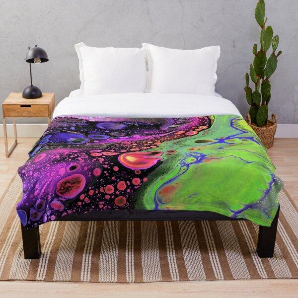 Jasper Sea - Lime Throw Blanket