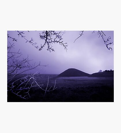 Silbury Hill Photographic Print
